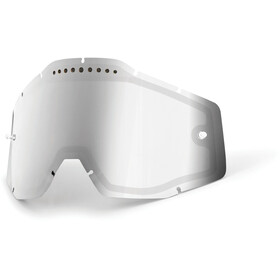 100% Vented Dual Replacement Lenses, silver / mirror